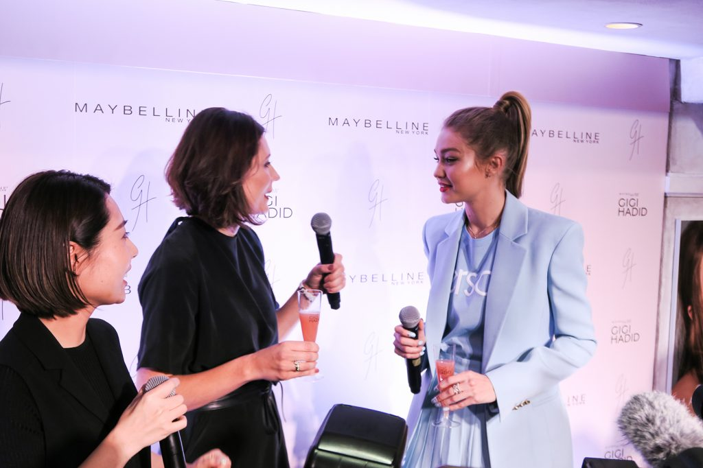 Gigi Hadid x Maybelline Collection Tokyo Launch Party