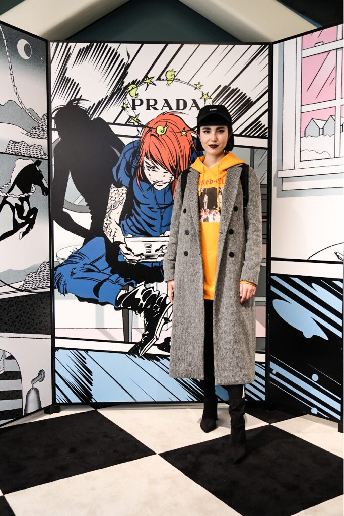 Prada Spring Summer 2018 Collection Party