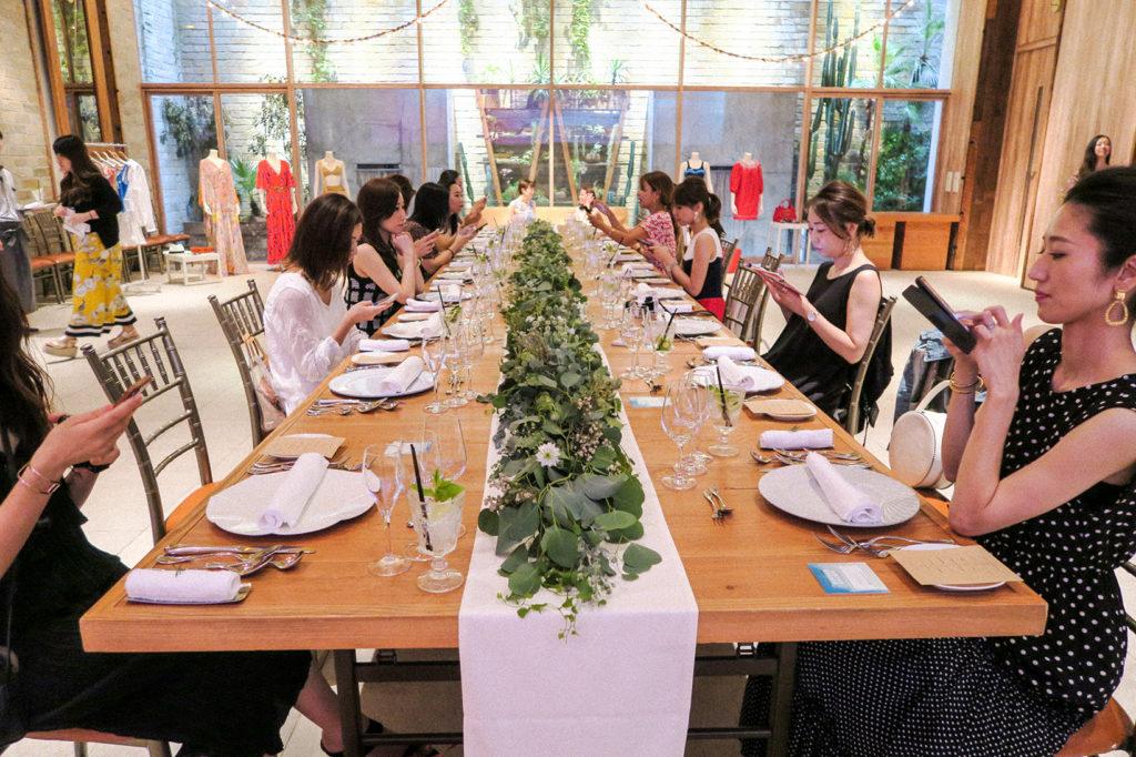 SHOPSTYLE x LUISAVIAROMA Luncheon at Things Aoyama