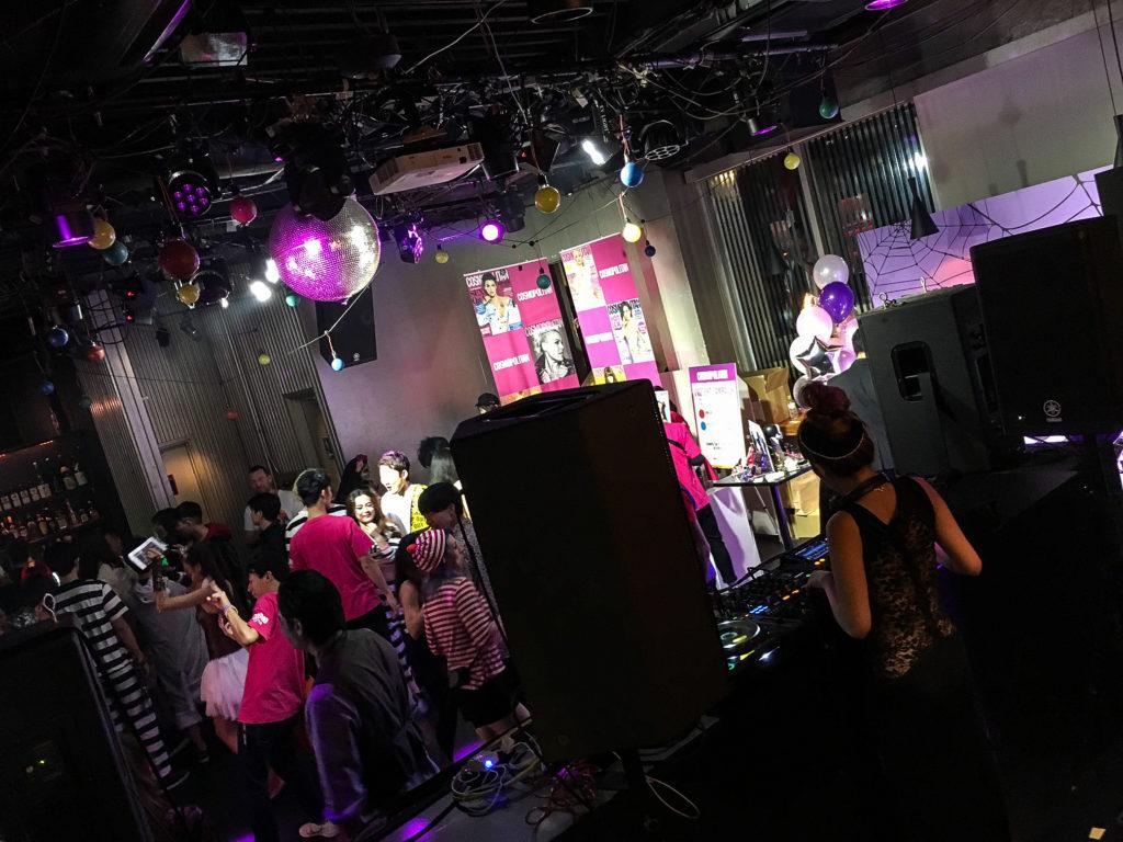 Tokyo Party Report by Samantha Mariko - October 2018