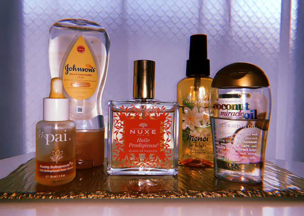 My 5 Favorite Body & Hair Oils for Summer
