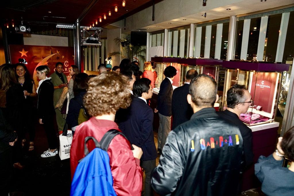 "La Fondue Tokyo presents CHARRIOL ""L'art de Vivre la Différence"""